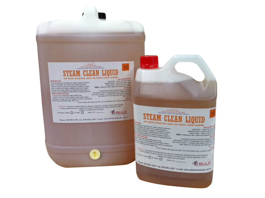 Carpet Steam Cleaning Hot Water Extraction Liquid 25 Litre